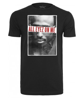 T-shirt 2Pac x Mister Tee All Eyez On Me Noir
