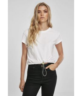 T-shirt court Cropped Tunnel Tee