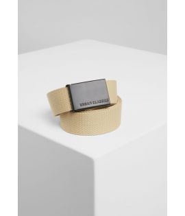 Canvas Belts beige/black one size