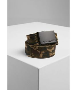 Ceinture canvas 120 Cm wood camo