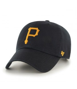 Casquette 47 Brand Pittsburgh Pirates Vintage Clean Up Noir