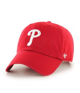 Casquette 47 Brand Philadephia Phillies Vintage Clean Up Rouge