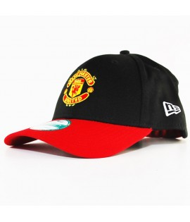 Casquette New Era 940 Manchester United Noir-Rouge Player 9Forty