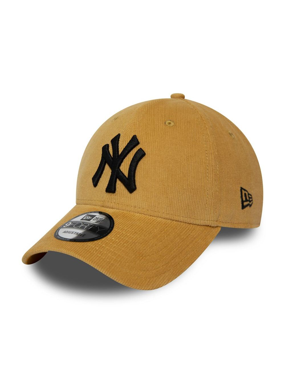 Casquette New Era 9FORTY New York Yankees Corduroy sable 12285527