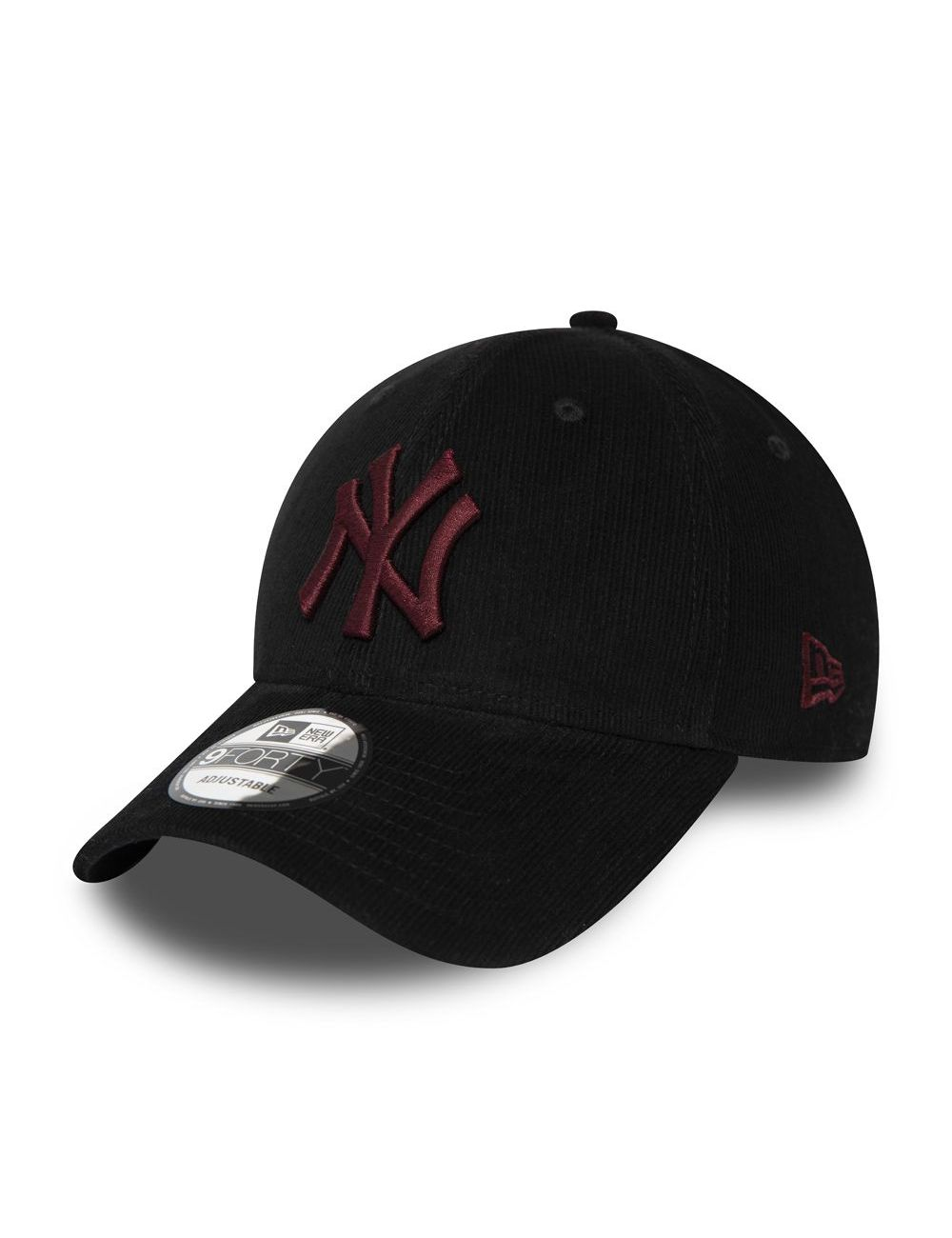 Casquette New Era 9FORTY New York Yankees Corduroy noire 12285530