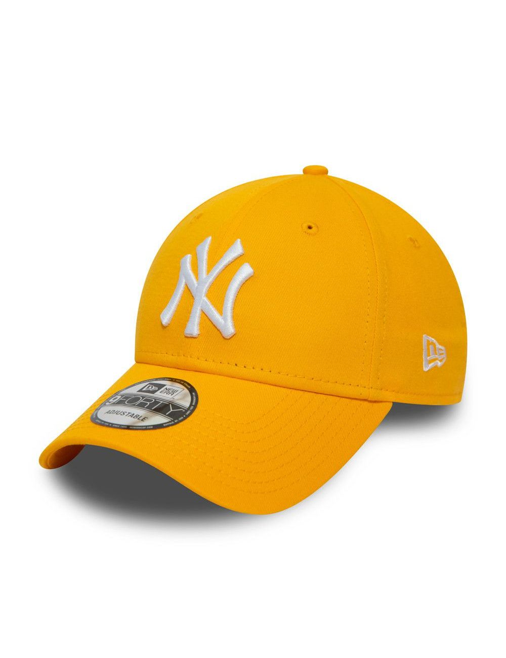 Casquette New Era 9Forty Ligue Essential NY Yankees jaune 12380596