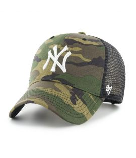 Casquette Trucker Branson Camo New York Yankees