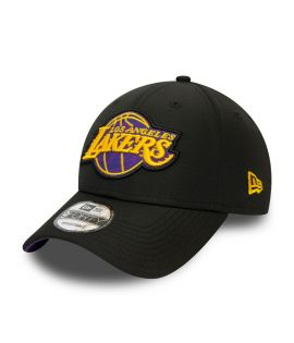 Casquette New Era 9FORTY Hook Los Angeles Lakers noire 12381231