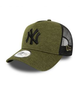 Casquette New Era Trucker Shadow Tech LA Dodgers verte olive 12285265