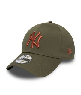Casquette New Era 39THIRTY Seasonal Colour NY Yankees verte olive 12285284
