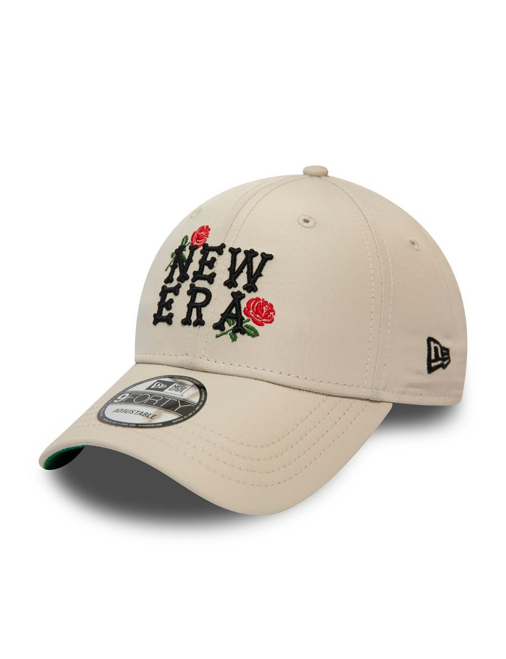 Casquette New Era 9FORTY Script and Roses beige 12380860