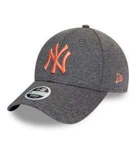 Casquette Femme New Era 9FORTY Licensed Jersey New York Yankees grise 12386816