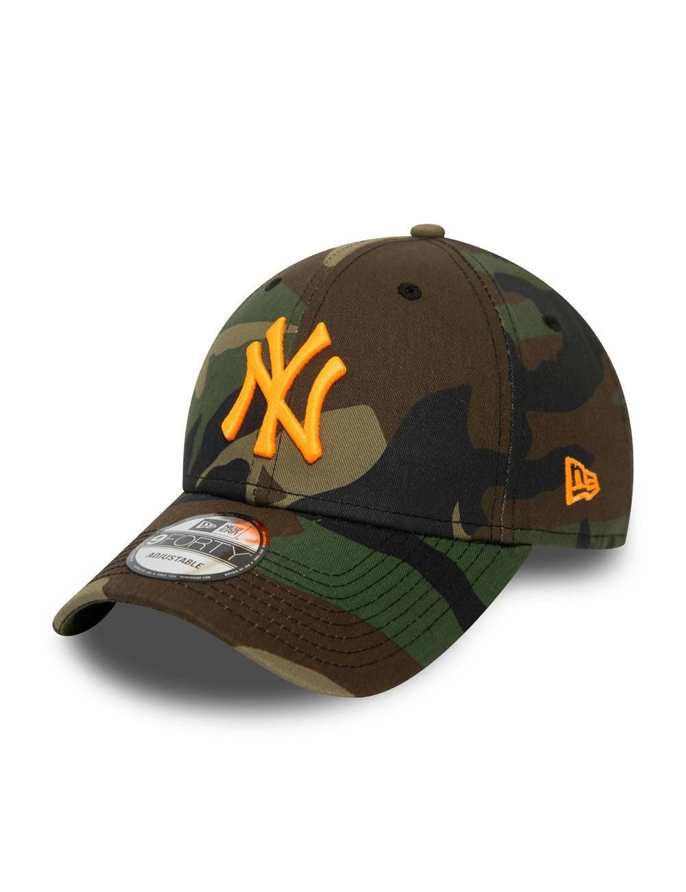 Casquette Incurvée New Era New York Yankees League 9Forty Camouflage Camo