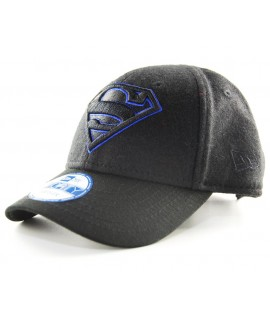 Casquette Bébé New Era Superman Noir Wool Hero