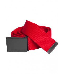 Ceinture Canvas Rouge Urban Classic 120 Cm