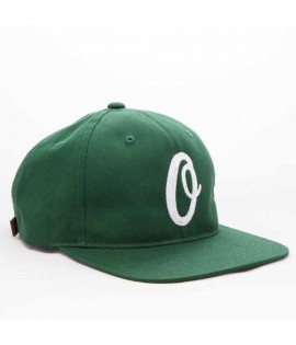 Casquette Obey Snapback Federation Vert