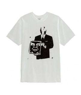 T-Shirt Obey Corporate Violence Blanc