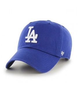 Casquette 47 Brand Los Angeles Dodgers Vintage Clean Up Bleu