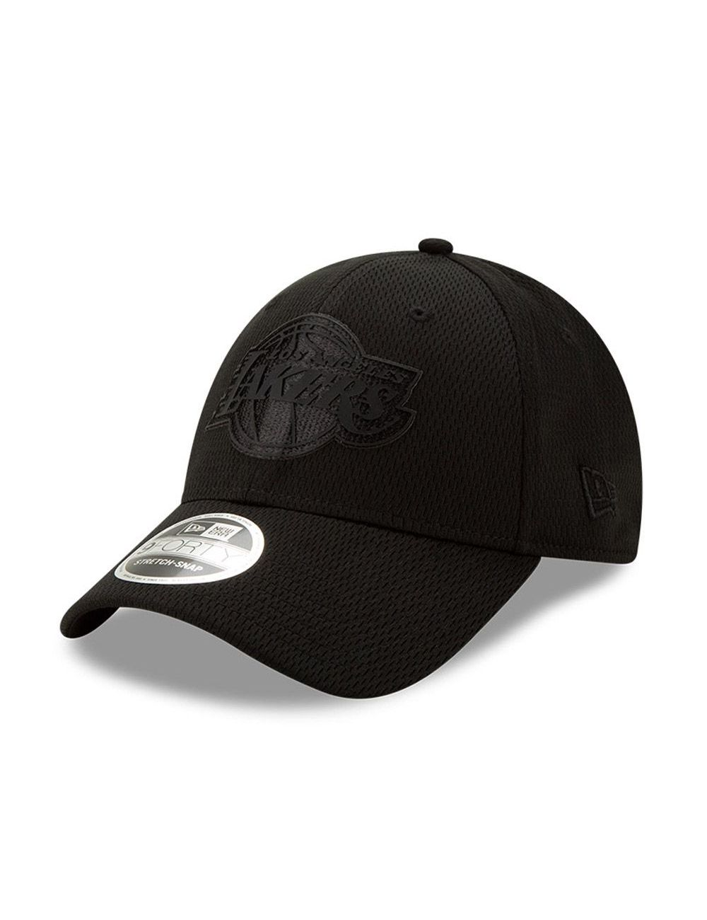 Casquette 9FORTY Black On Black Lakers