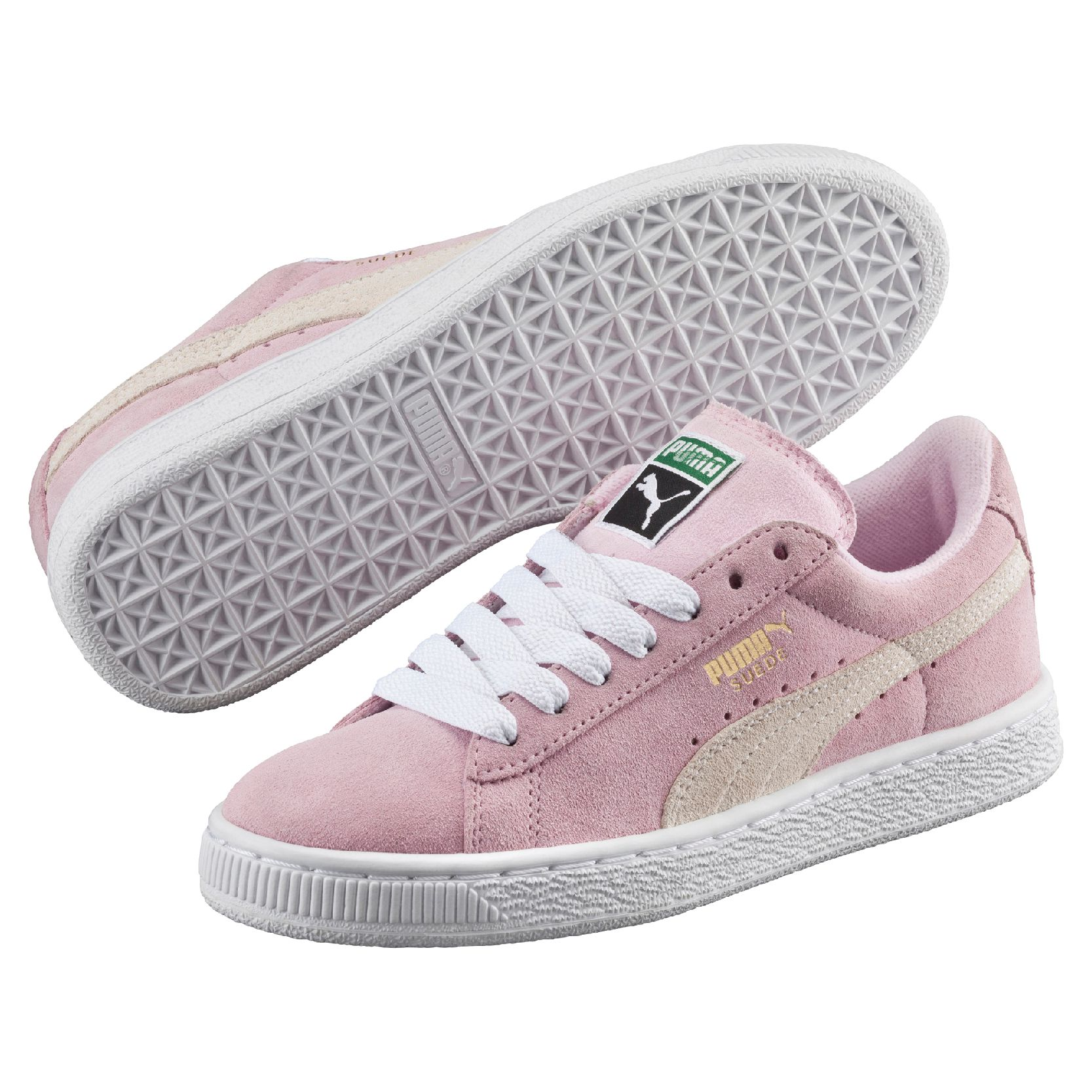 Baskets Puma Suede Rose Clair Classic