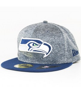 Casquette New Era 59Fifty Seattle Seahawks Jersey Marl Gris