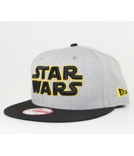 Casquette New Era x Star Wars Word 950 Gris
