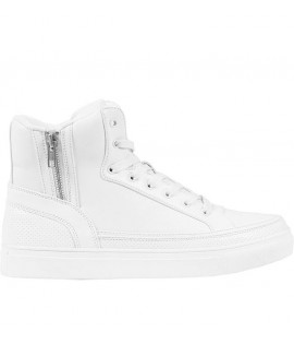 Chaussures Montantes Urban Classics High Top Zip Blanc