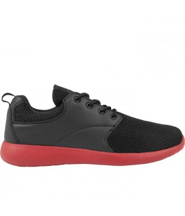 Baskets Urban Classics Light Runner Noir Rouge