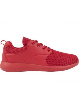 Baskets Urban Classics Femme Light Runner Rouge