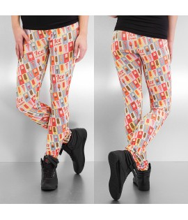 Legging Femme Just Rhyse Ice Cream Multicolore