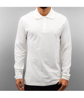 Polo Cazzy Clang Classic LS Blanc Manches Longues