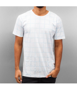 T-shirt Cazzy Clang Checked III Blanc