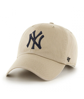 Casquette 47 Brand New York Yankees Vintage Clean Up Kaki