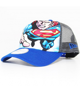 Casquette Trucker New Era Superman Trucker Bleu