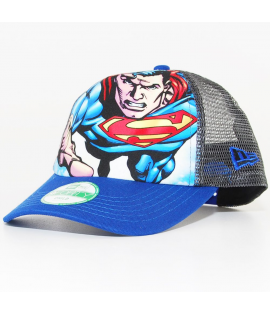 Casquette Enfant New Era Superman Trucker Bleu 940 Child