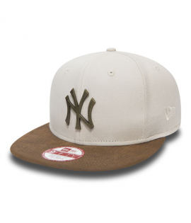 Casquette New Era NY Yankees Rust 950 Beige Suede