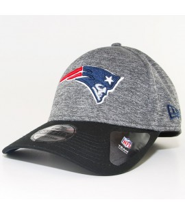 Casquette New Era New England Patriots 39Thirty Flecked Grey NFL