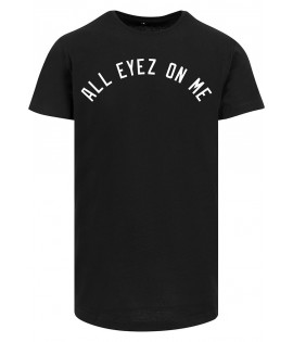 T-shirt Long Mister Tee x 2Pac All Eyez On Me Oversize Noir