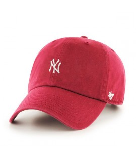 Casquette 47 Brand New York Yankees Centerfield 47 Clean Up Rouge