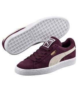 Chaussures Puma Suede Winetasting Bordeaux
