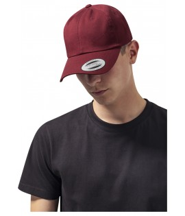 Casquette Incurvée Flexfit Low Profile Bordeaux