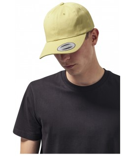 Casquette Incurvée Flexfit Low Profile Curry Jaune