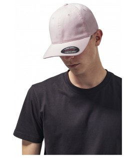 Casquette Incurvée Flexfit Rose Dad Hat Garment Washed