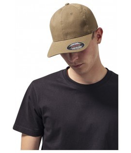 Casquette Incurvée Flexfit Olive Dad Hat Garment Washed