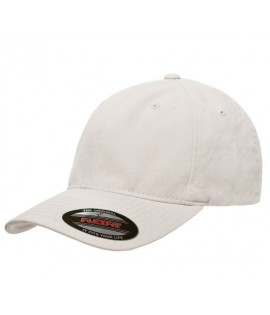 Casquette Incurvée Flexfit Beige Dad Hat Garment Washed