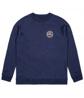 Sweat Brixton Soto Crewneck Indian Bleu Marine