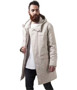 Parka Urban Classics Peached Canvas Beige