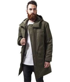 Parka Urban Classics Peached Canvas Olive