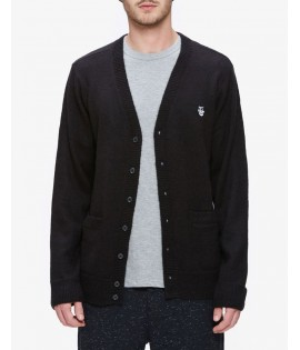 Cardigan Obey Court Cardigan Noir