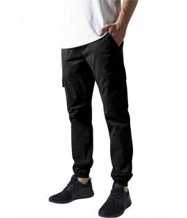 Pantalon Cargo Stretch Urban Classics Washed Noir
